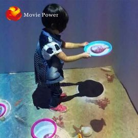 中国 良い品質 Infrared Sensing 9D VR Cinema Multi Interactive Floor Games Projection on 売上高